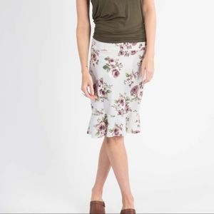 Agnes & Dora Floral Flounce Skirt